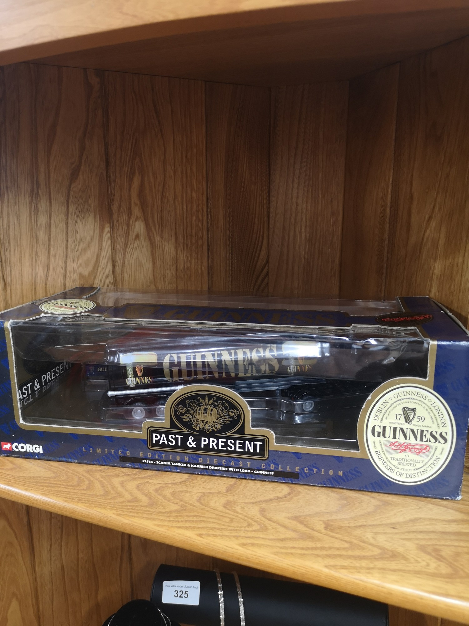 Large corgi Guinness past and present truck with trailor and small truck set. - Image 2 of 2