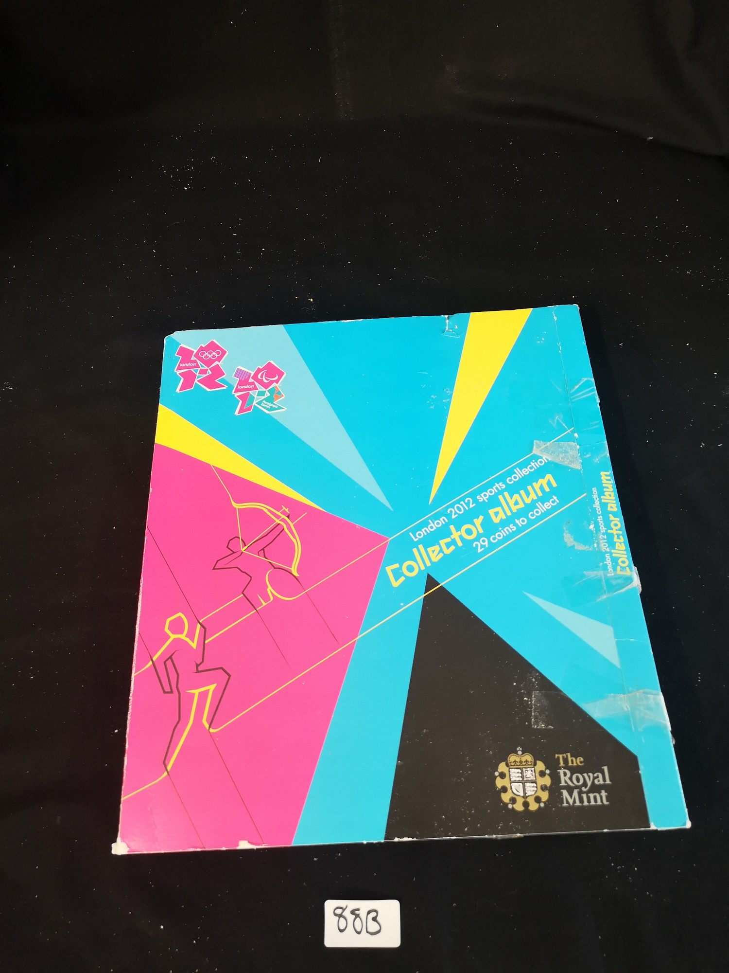 London Olympics 2012 sports collection album complete.