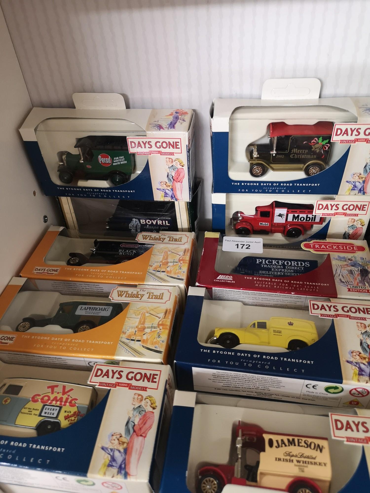 Shelf of days gone models. - Image 2 of 4