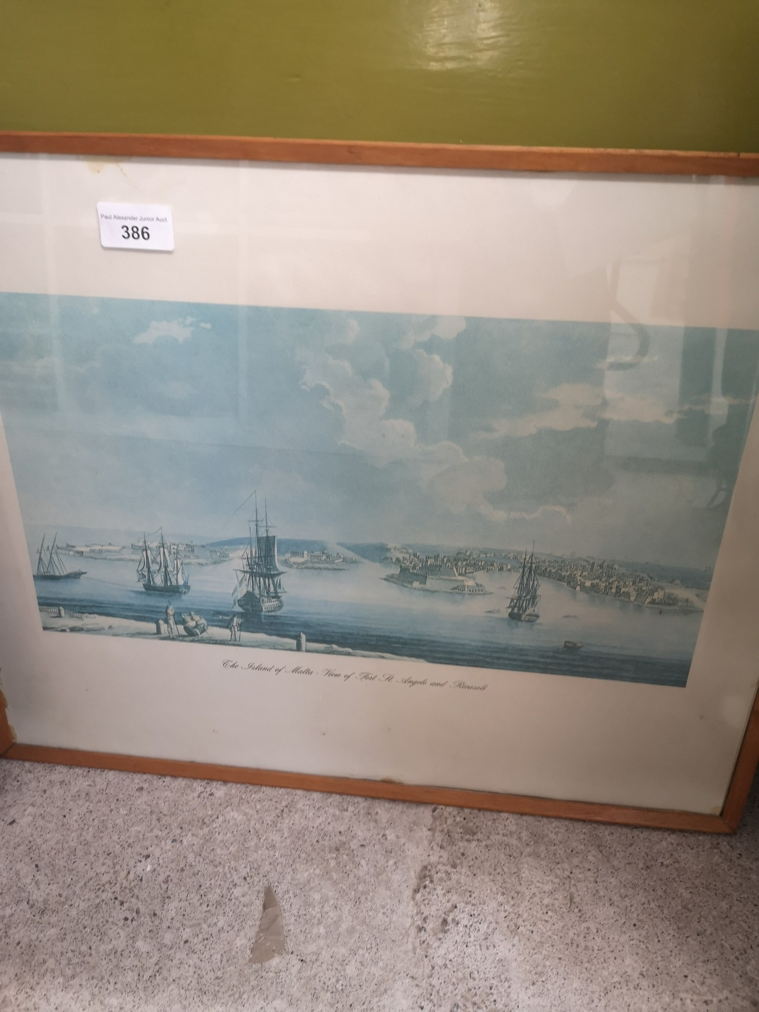 2 boat scene prints. - Image 2 of 3