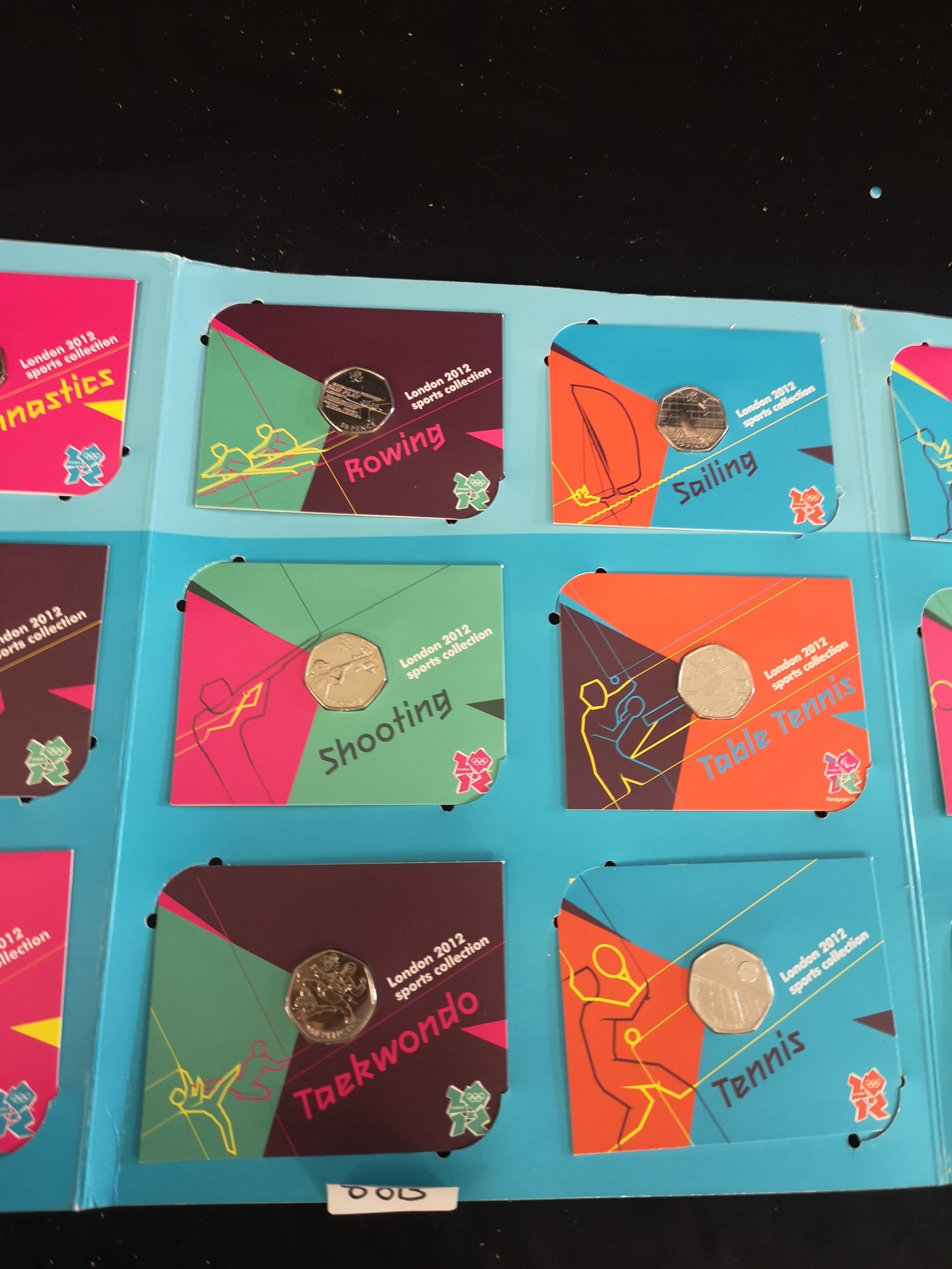 London Olympics 2012 sports collection album complete. - Image 3 of 6