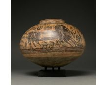 INDUS VALLEY PAINTED POTTERY VESSEL