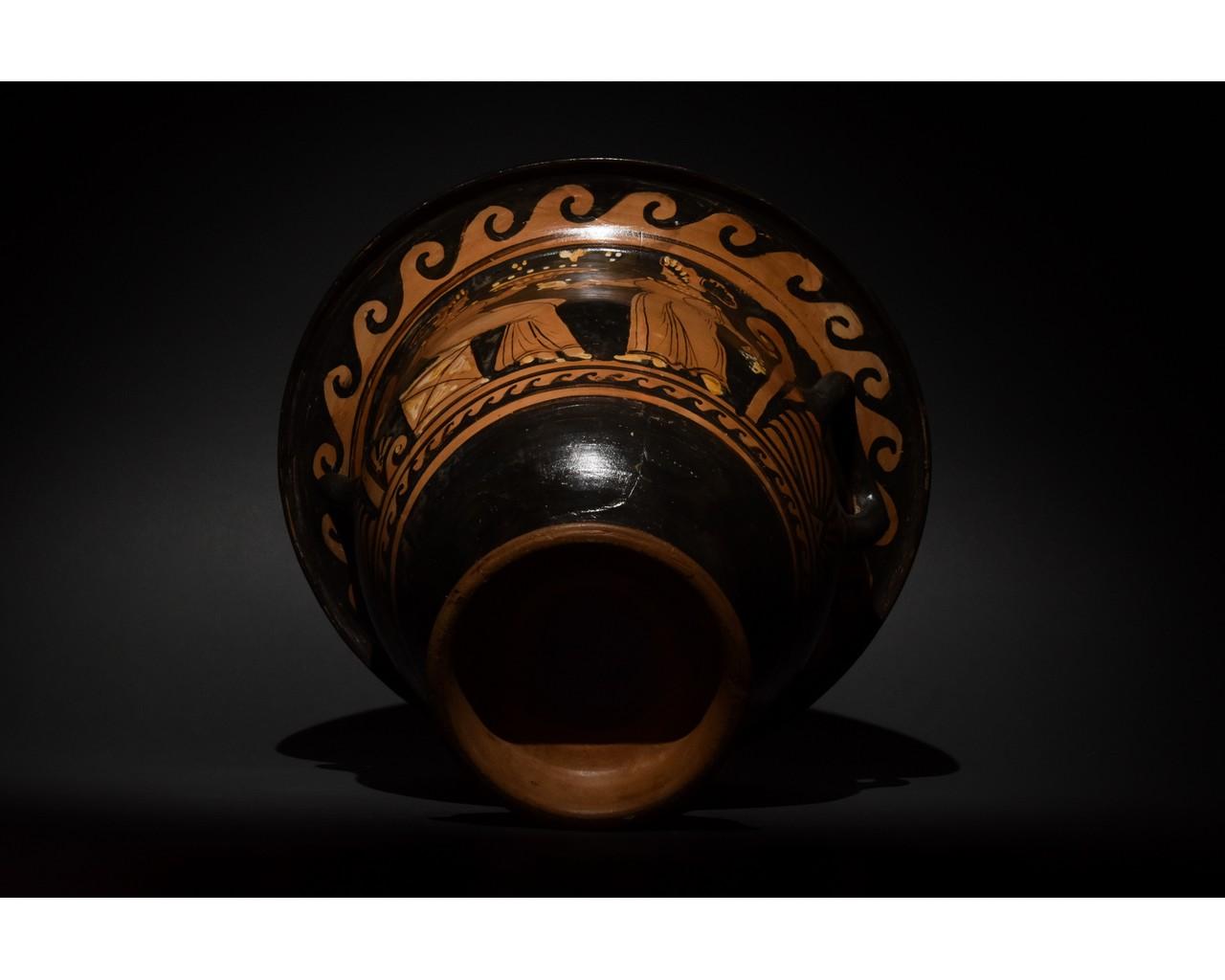 LARGE GREEK APULIAN BELL KRATER - TL TESTED - Image 6 of 15