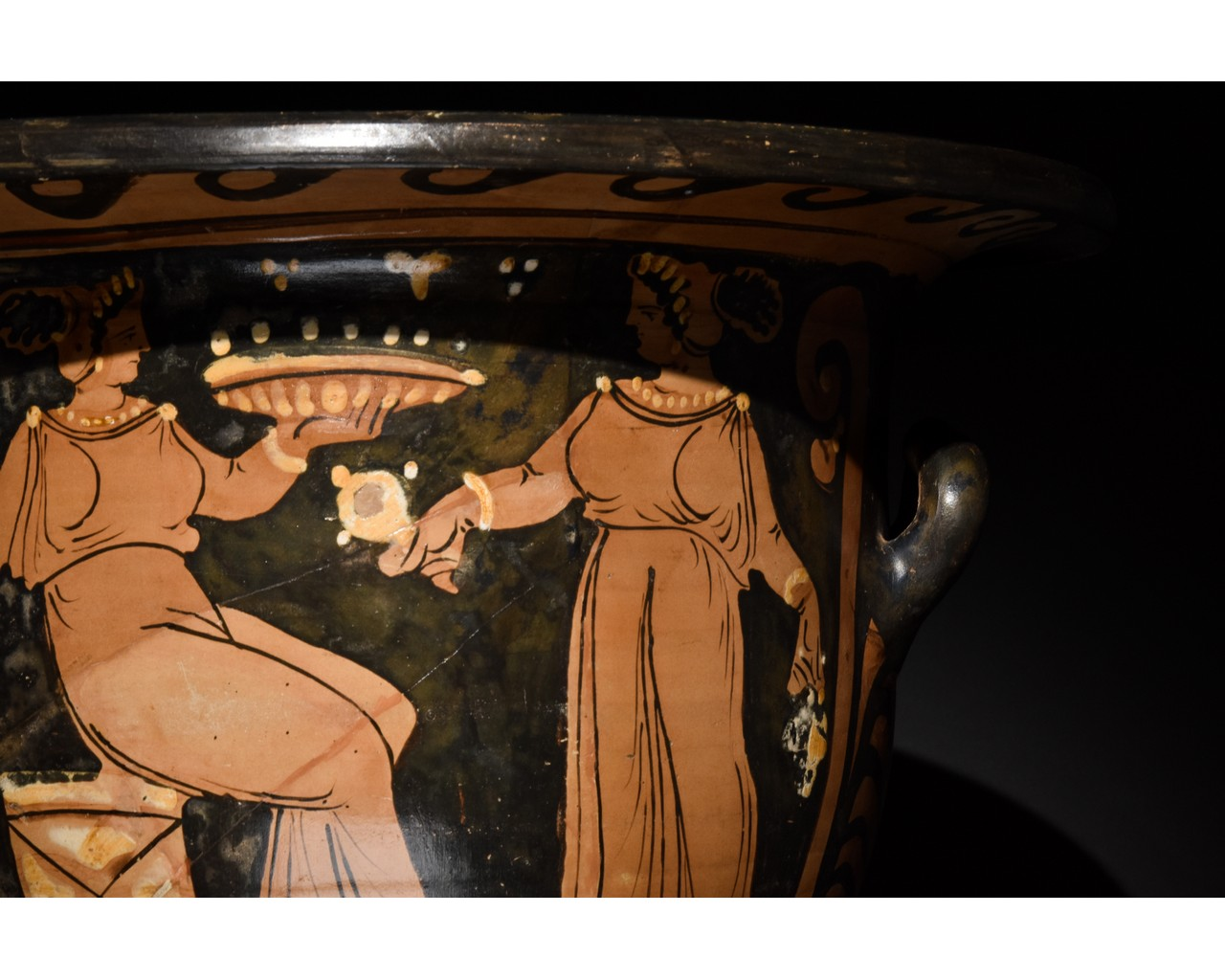LARGE GREEK APULIAN BELL KRATER - TL TESTED - Image 8 of 15