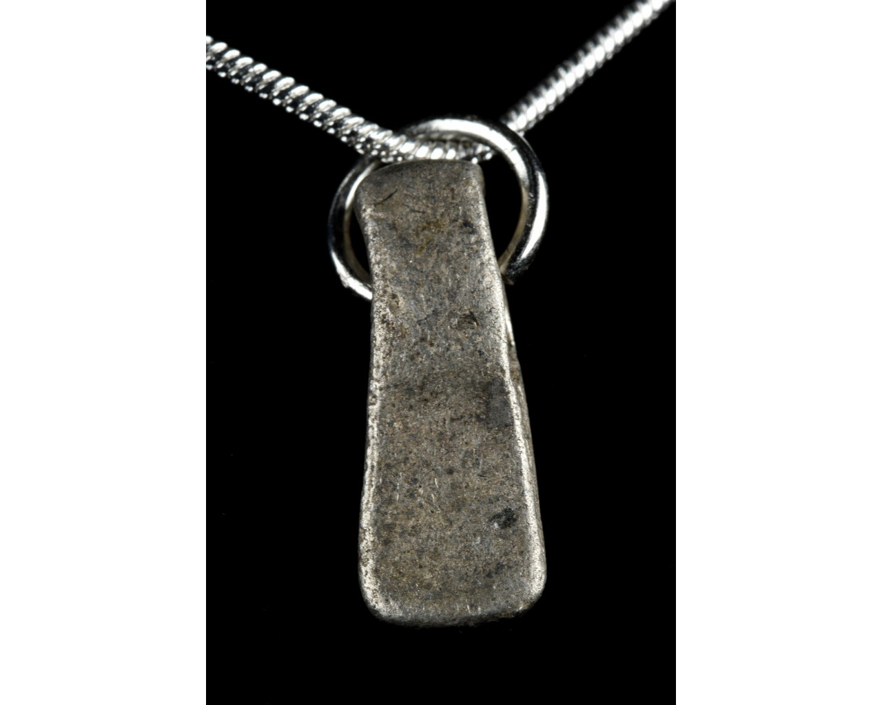MEDIEVAL SILVER AXE-SHAPED PENDANT - Image 2 of 6