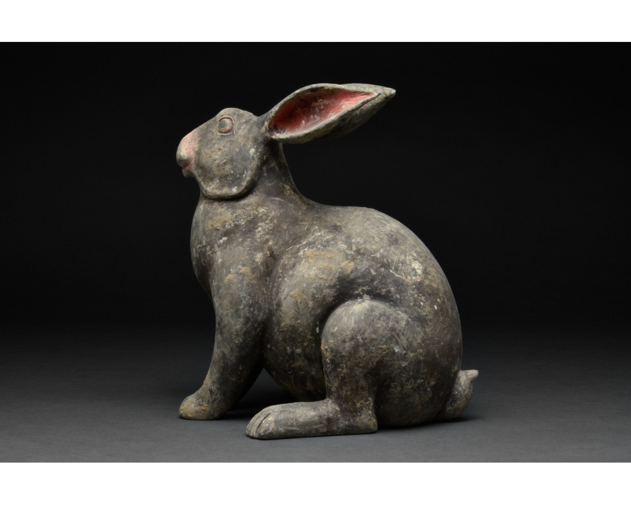 CHINESE HAN DYNASTY TERRACOTTA RABBIT - TL TESTED - Image 2 of 5
