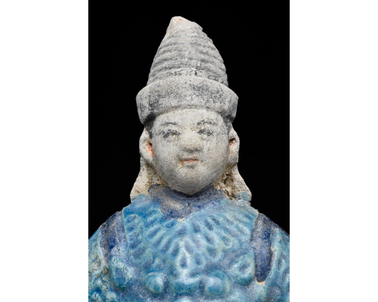 CHINESE MING DYNASTY TERRACOTTA FIGURE - Image 4 of 4