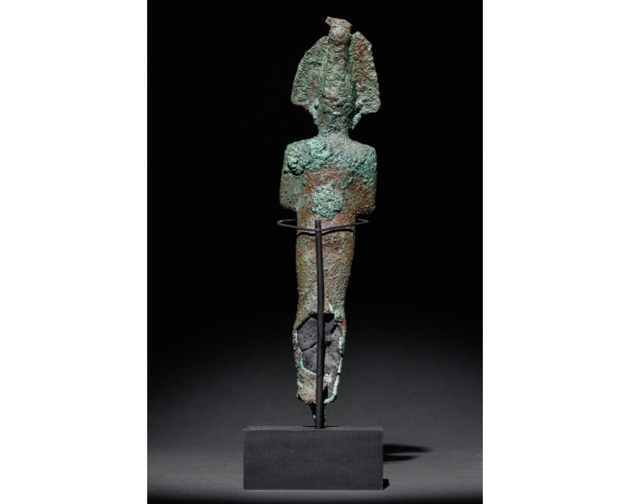 EGYPTIAN VOTIVE STATUETTE OF OSIRIS - Image 3 of 5