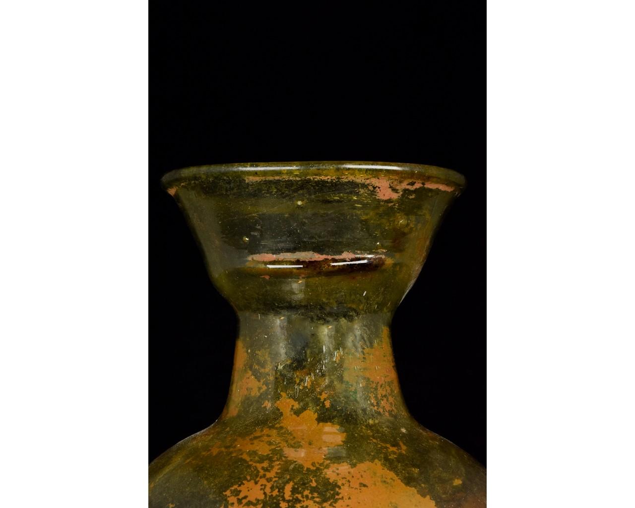 ROMAN GLASS JAR - Image 5 of 8