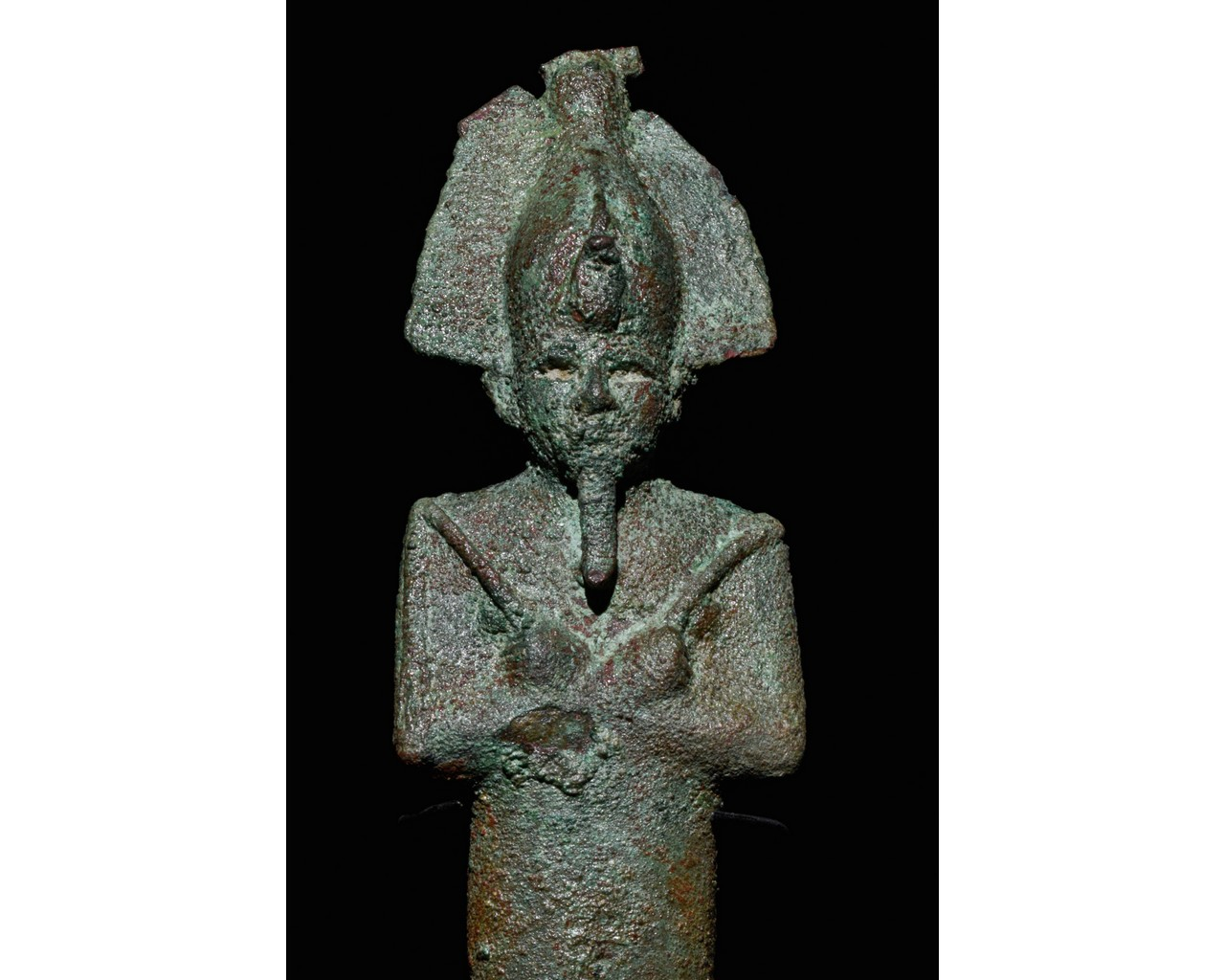 EGYPTIAN VOTIVE STATUETTE OF OSIRIS - Image 4 of 5
