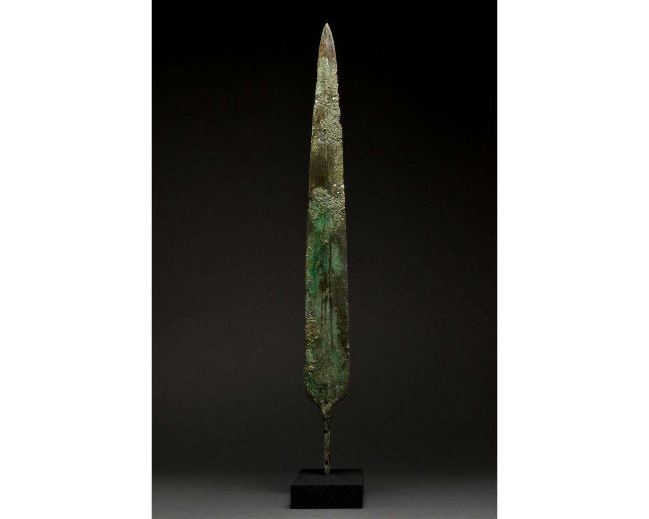 ANCIENT BRONZE SWORD