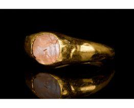 ROMAN GOLD INTAGLIO RING - FULL ANALYSIS