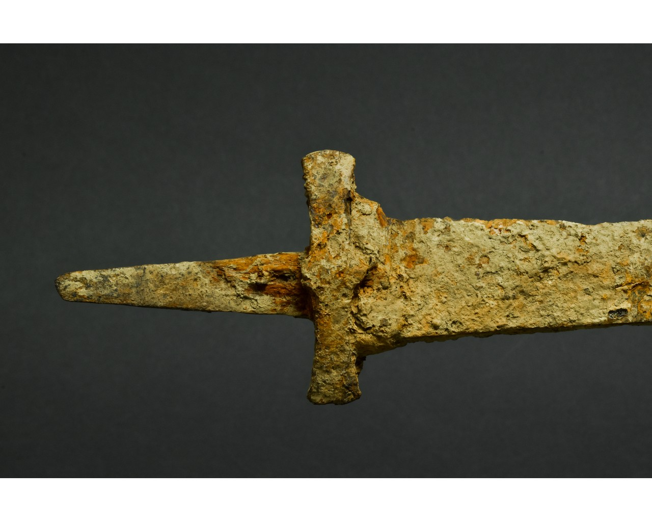 MEDIEVAL MIGRATION PERIOD IRON SWORD - Image 3 of 4