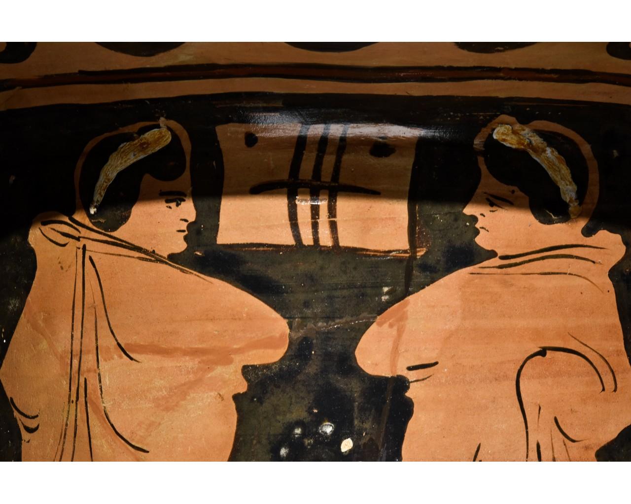 LARGE GREEK APULIAN BELL KRATER - TL TESTED - Image 13 of 15