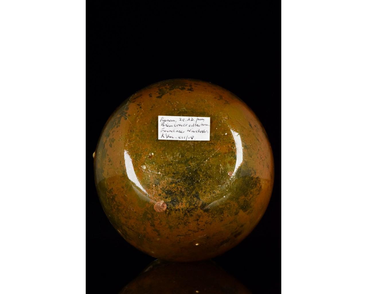 ROMAN GLASS JAR - Image 4 of 8
