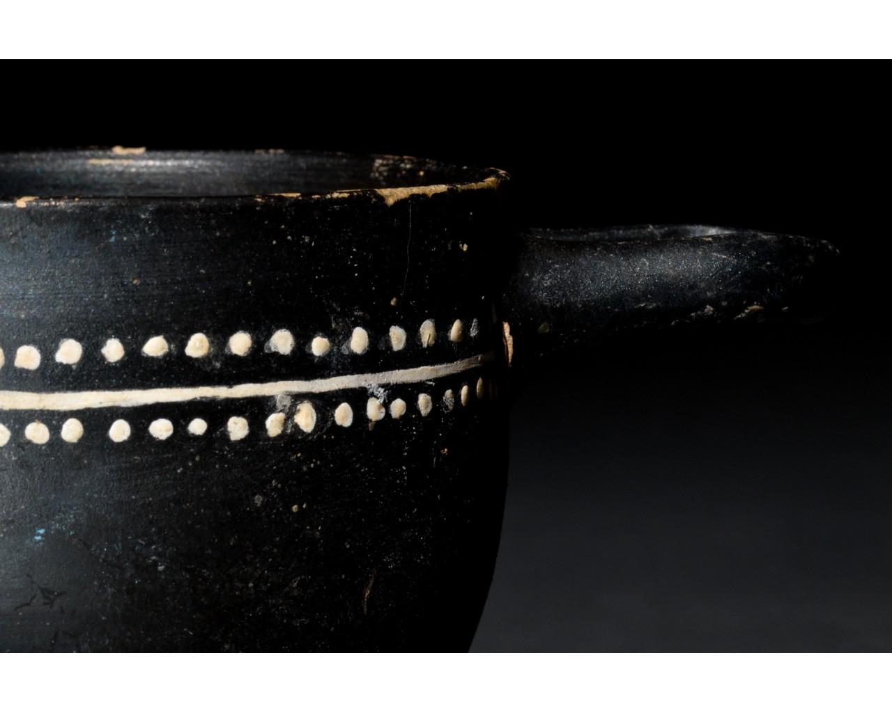GREEK GNATHIAN SKYPHOS - Image 8 of 8