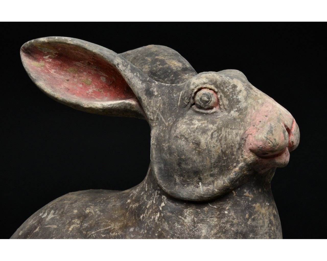 CHINESE HAN DYNASTY TERRACOTTA RABBIT - TL TESTED - Image 4 of 5