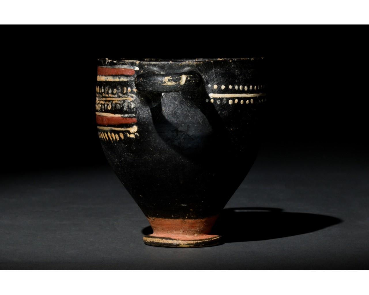 GREEK GNATHIAN SKYPHOS - Image 2 of 8