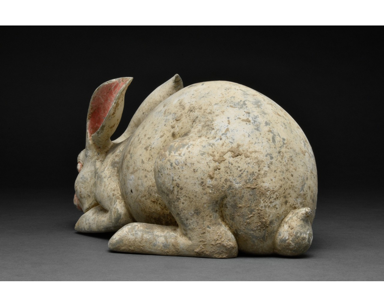 CHINESE HAN DYNASTY TERRACOTTA RABBIT - TL TESTED - Image 3 of 5
