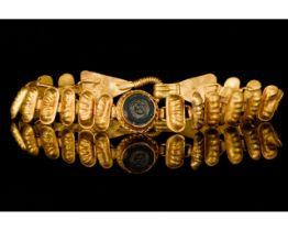ROMAN GOLD BRACELET WITH INLAY - FULL ANALYSIS