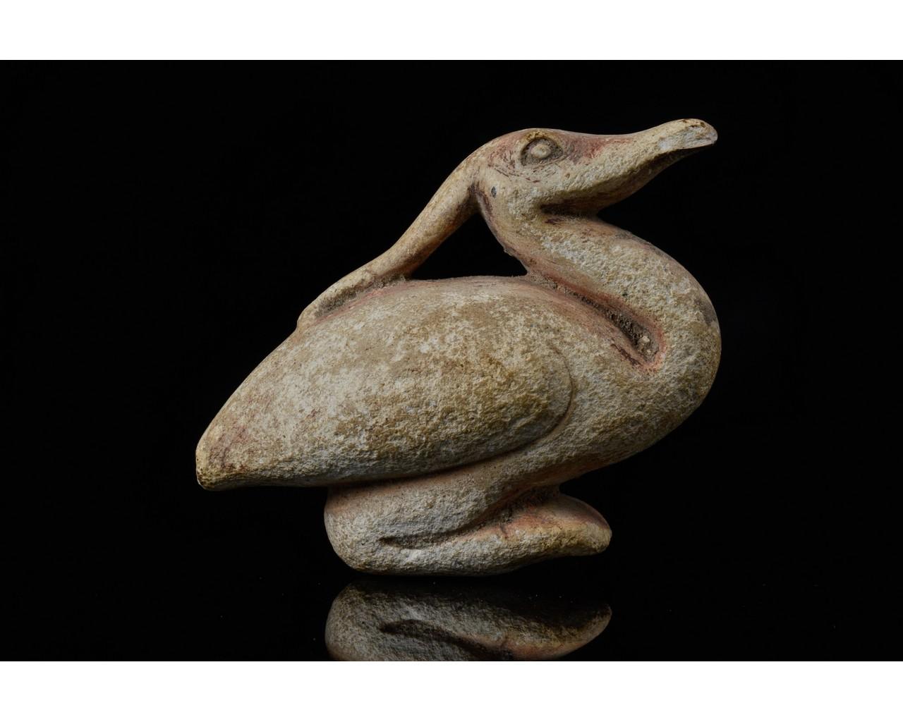 EGYPTIAN BENNU BIRD STATUETTE - Image 4 of 8
