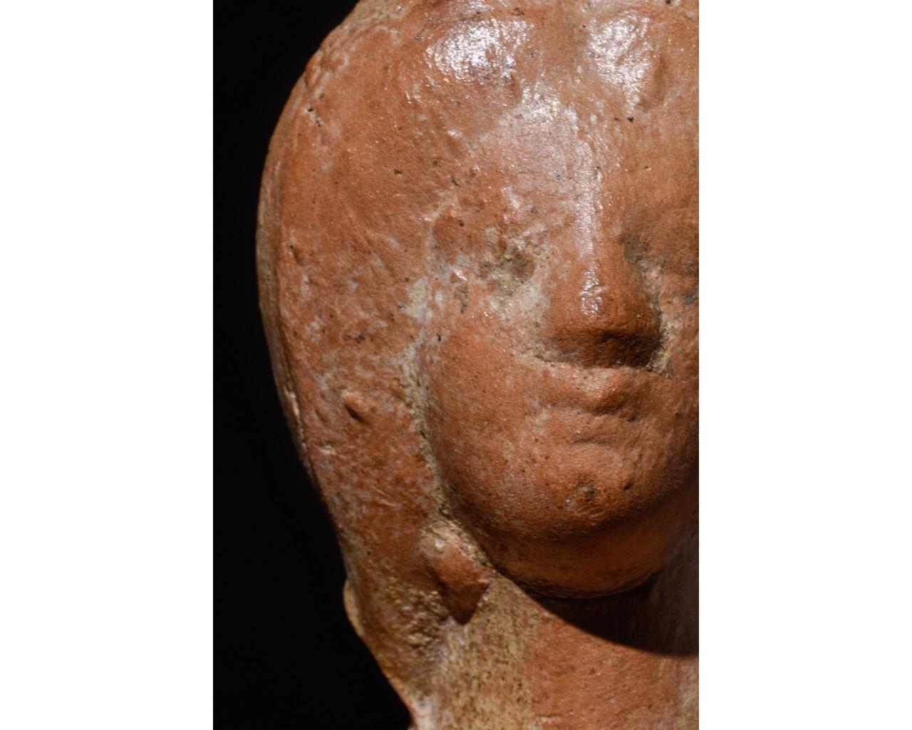 ROMAN TERRACOTTA BUST OF JULIA DOMNA - Image 5 of 8
