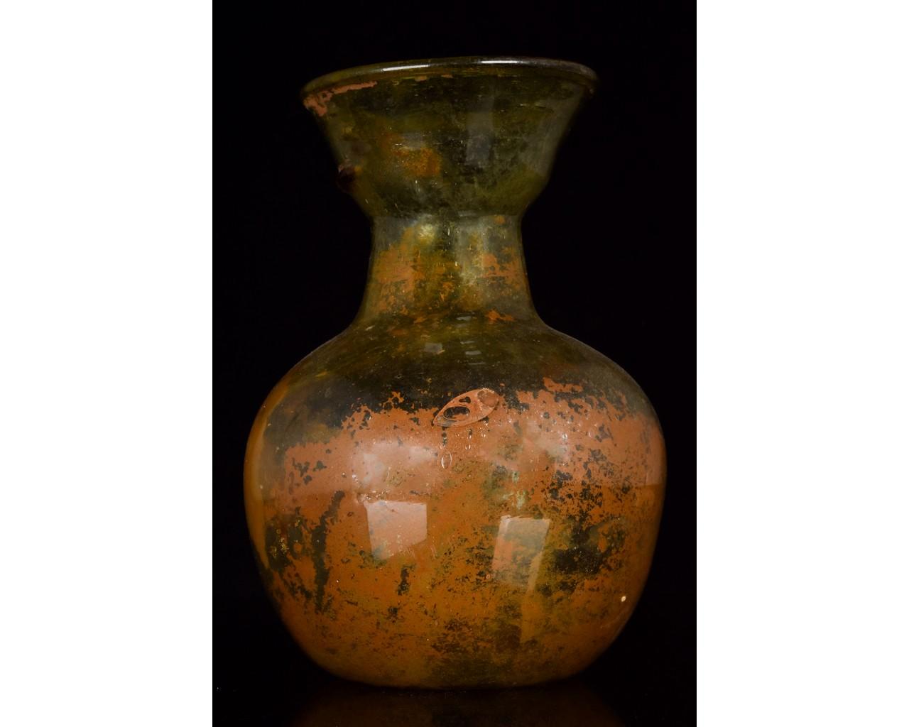 ROMAN GLASS JAR - Image 2 of 8
