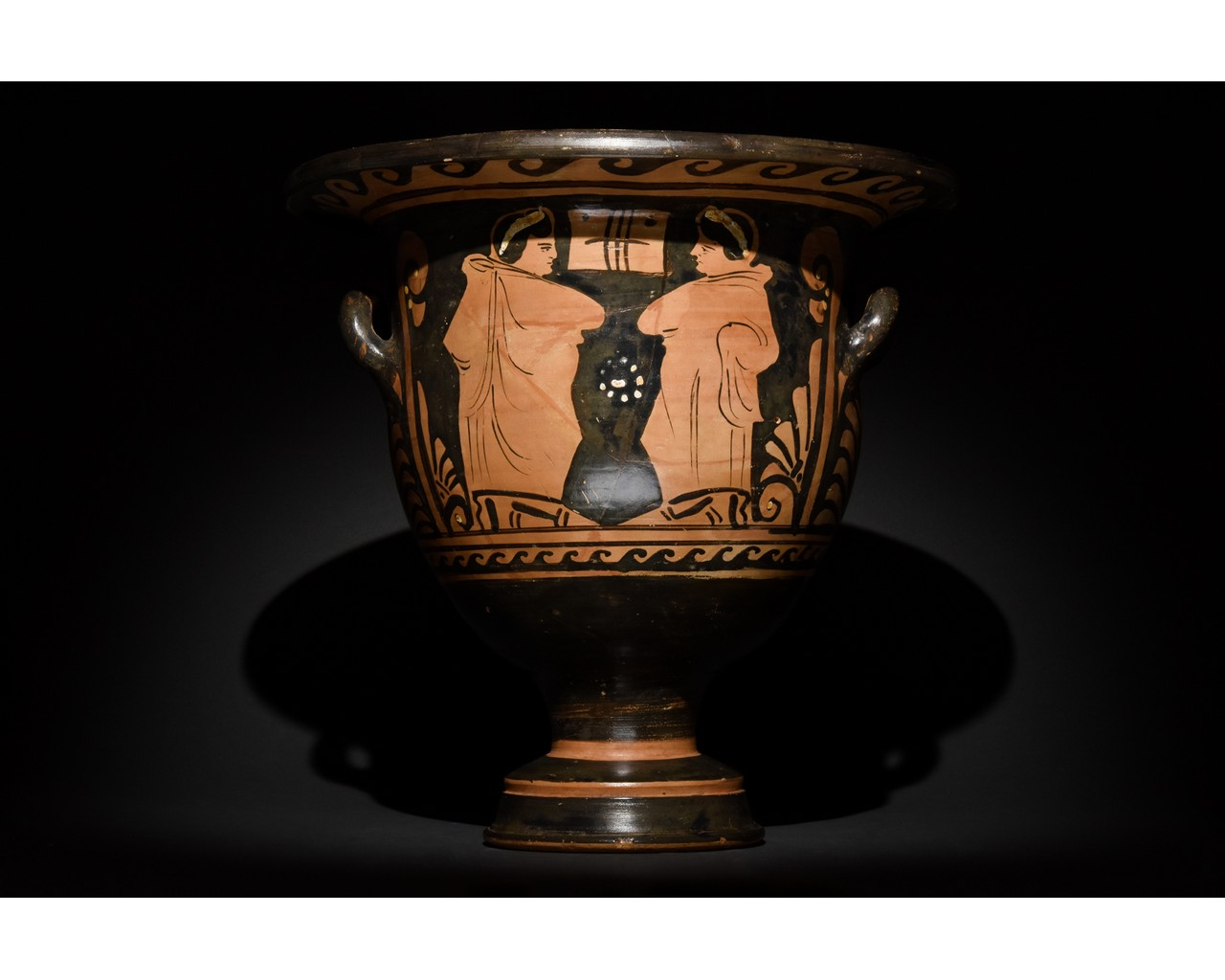 LARGE GREEK APULIAN BELL KRATER - TL TESTED - Image 3 of 15