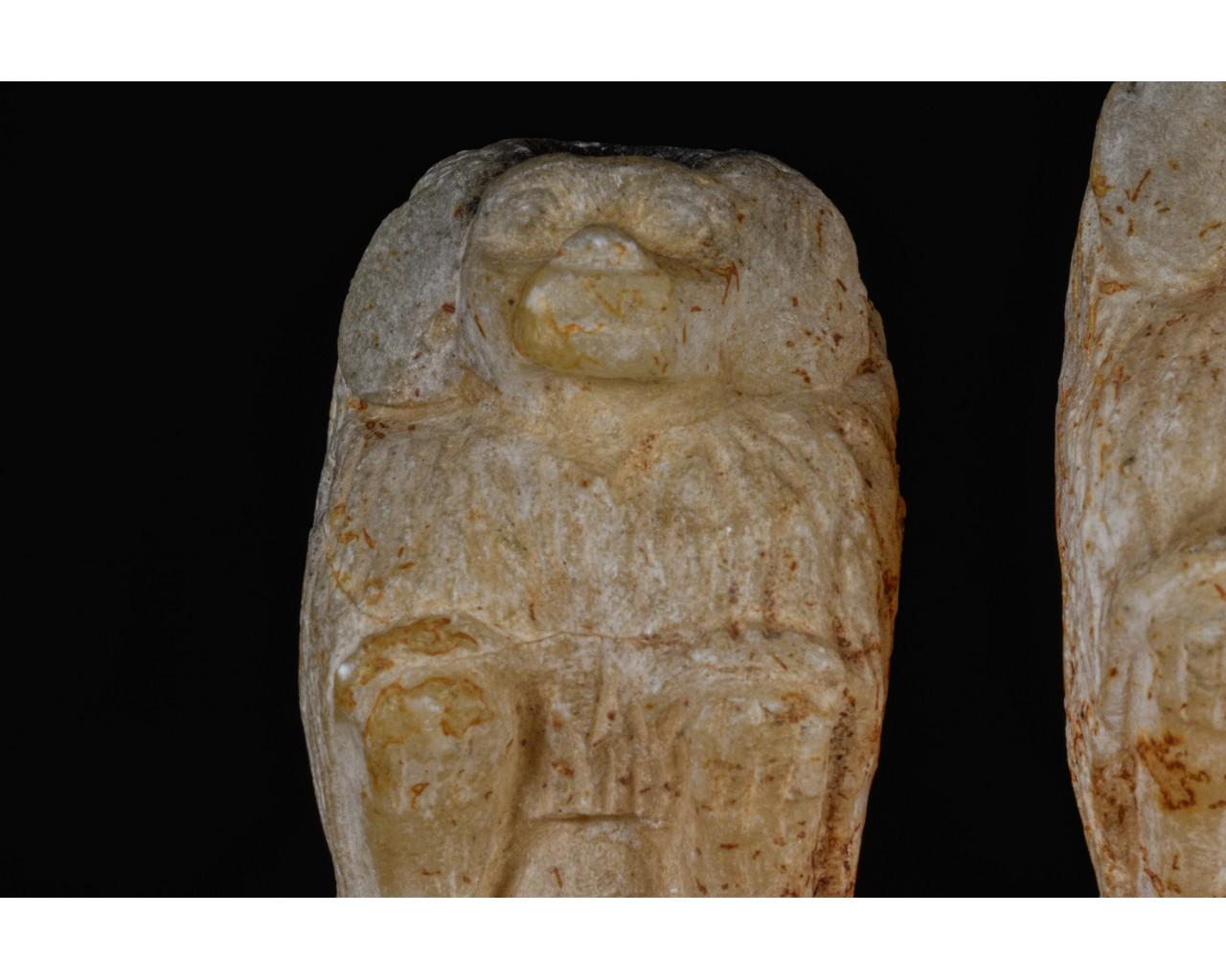 EGYPTIAN SCRIBAL SET OF THREE BABOONS - Image 5 of 7