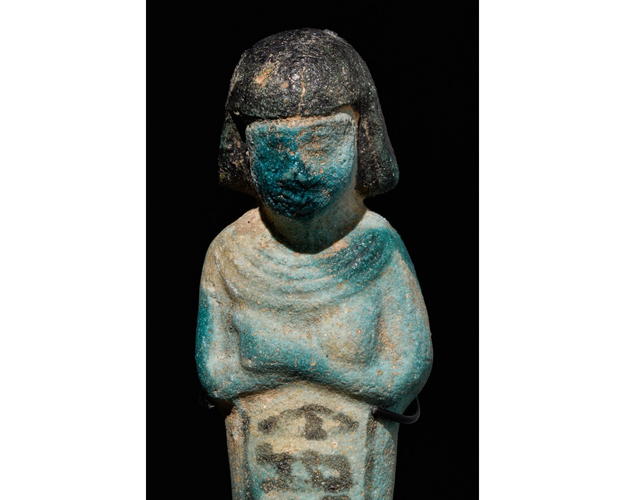 EGYPTIAN INSCRIBED SHABTI OF PA-DI-KHONSU - TRANSLATED - Image 4 of 5