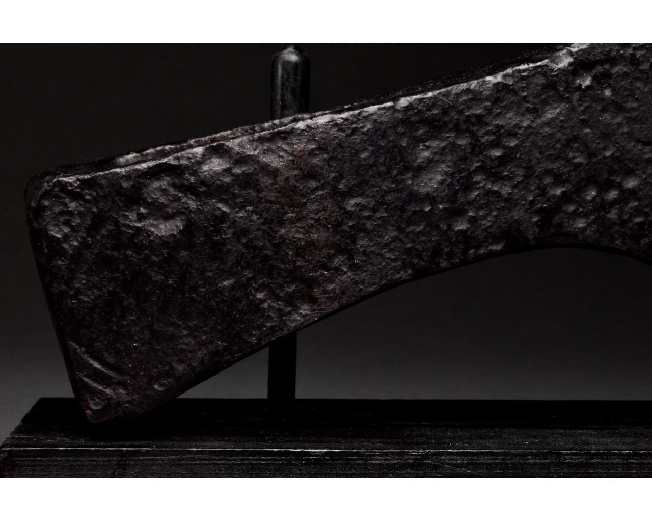 VIKING IRON BATTLE AXE HEAD - Image 3 of 8