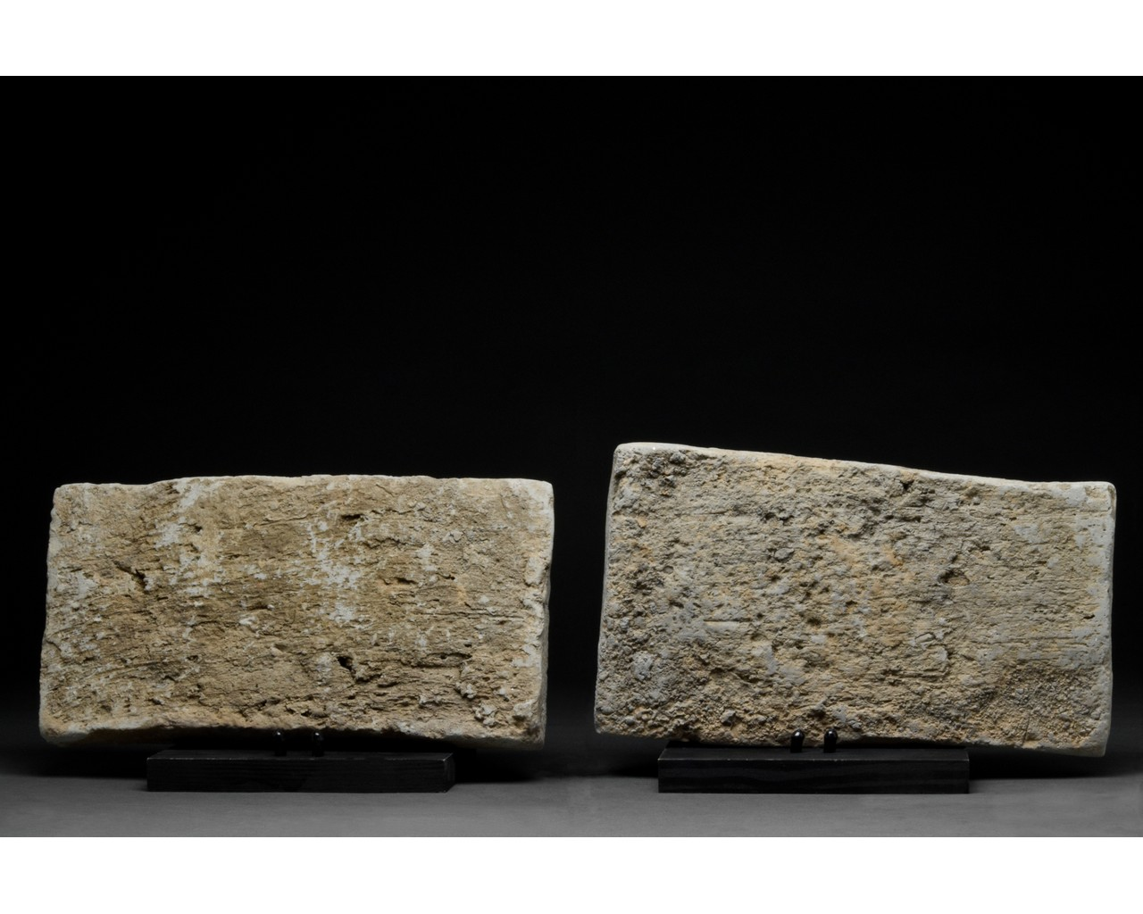 PAIR OF CHINESE SONG DYNASTY TERRACOTTA BRICKS - Image 3 of 5