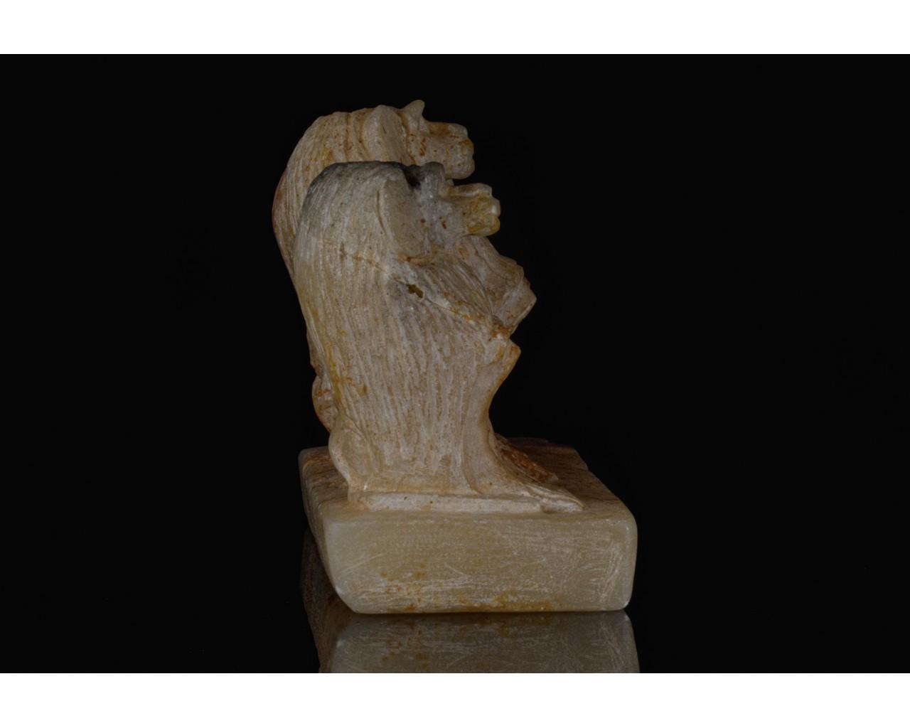 EGYPTIAN SCRIBAL SET OF THREE BABOONS - Image 4 of 7