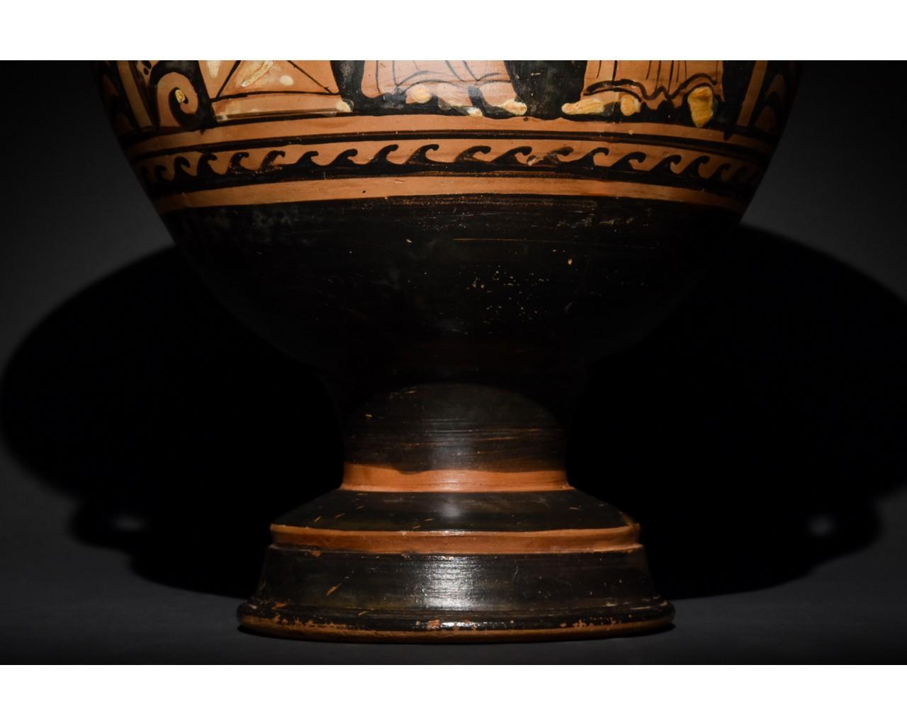 LARGE GREEK APULIAN BELL KRATER - TL TESTED - Image 9 of 15