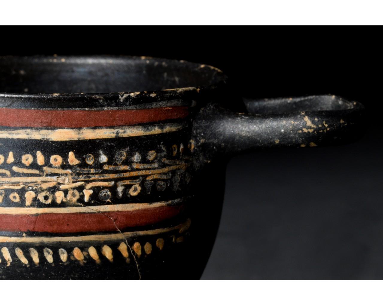 GREEK GNATHIAN SKYPHOS - Image 6 of 8