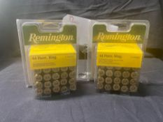 REMINGTON 44 REM MAG, (X2)