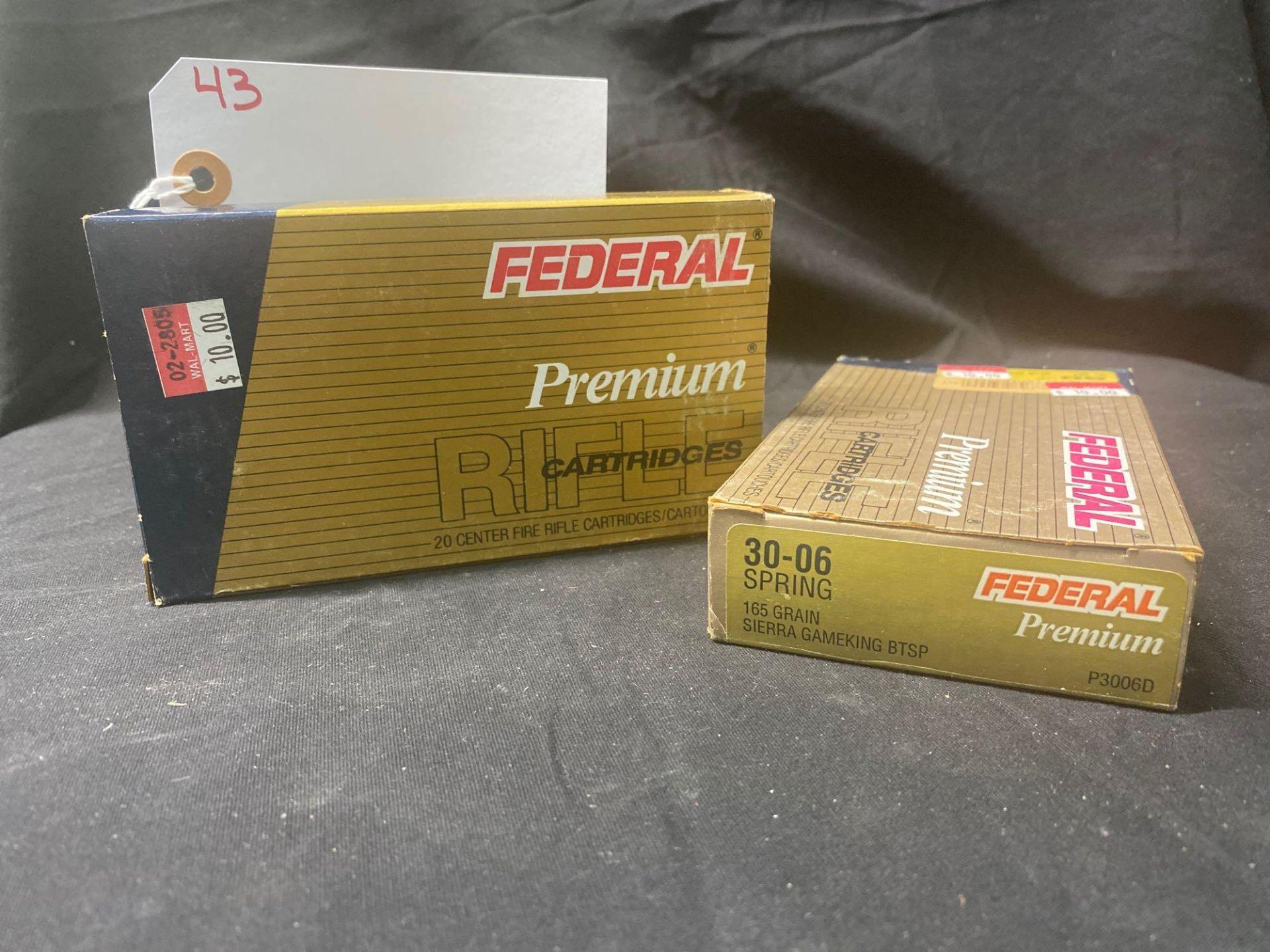 FEDERAL PREMIUM 30-06 CAL, (X2)