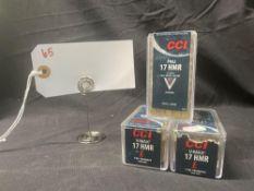 CCI 17 HMR CAL (X3)