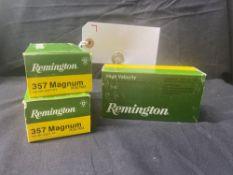 REMINGTON 357 MAG, (X3)