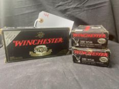 WINCHESTER SUPEREME, 300 WSM SHORT MAG (X3)