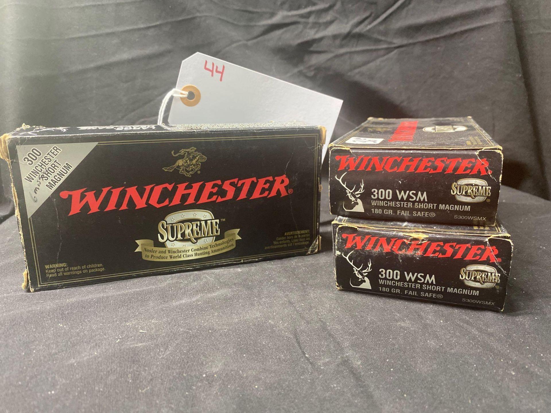 WINCHESTER SUPEREME, 300 WSM SHORT MAG (X3)
