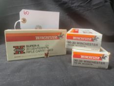 WINCHESTER 30-30 CAL (X3)