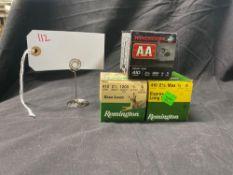 REMINGTON & WINCHESTER 410 GA, #6 AND #9 SHOT (X3)
