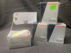 FEDERAL CLASSIC, 44 MAG, (X4)