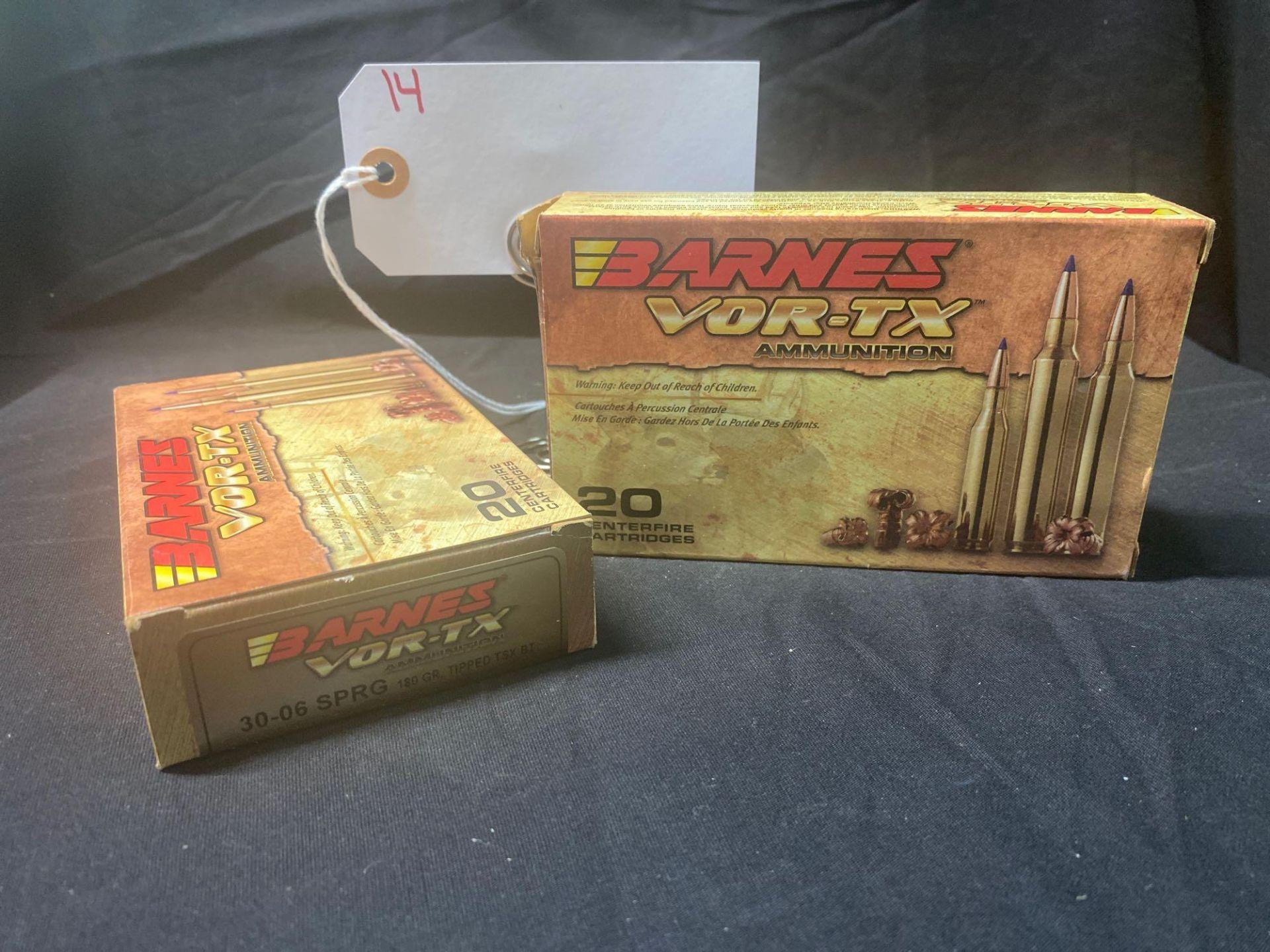BARNS VOR-TX, 30-06 CAL, (X2)