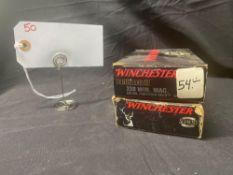 WINCHESTER SUPEREME , 338 WIN MAG (X2)