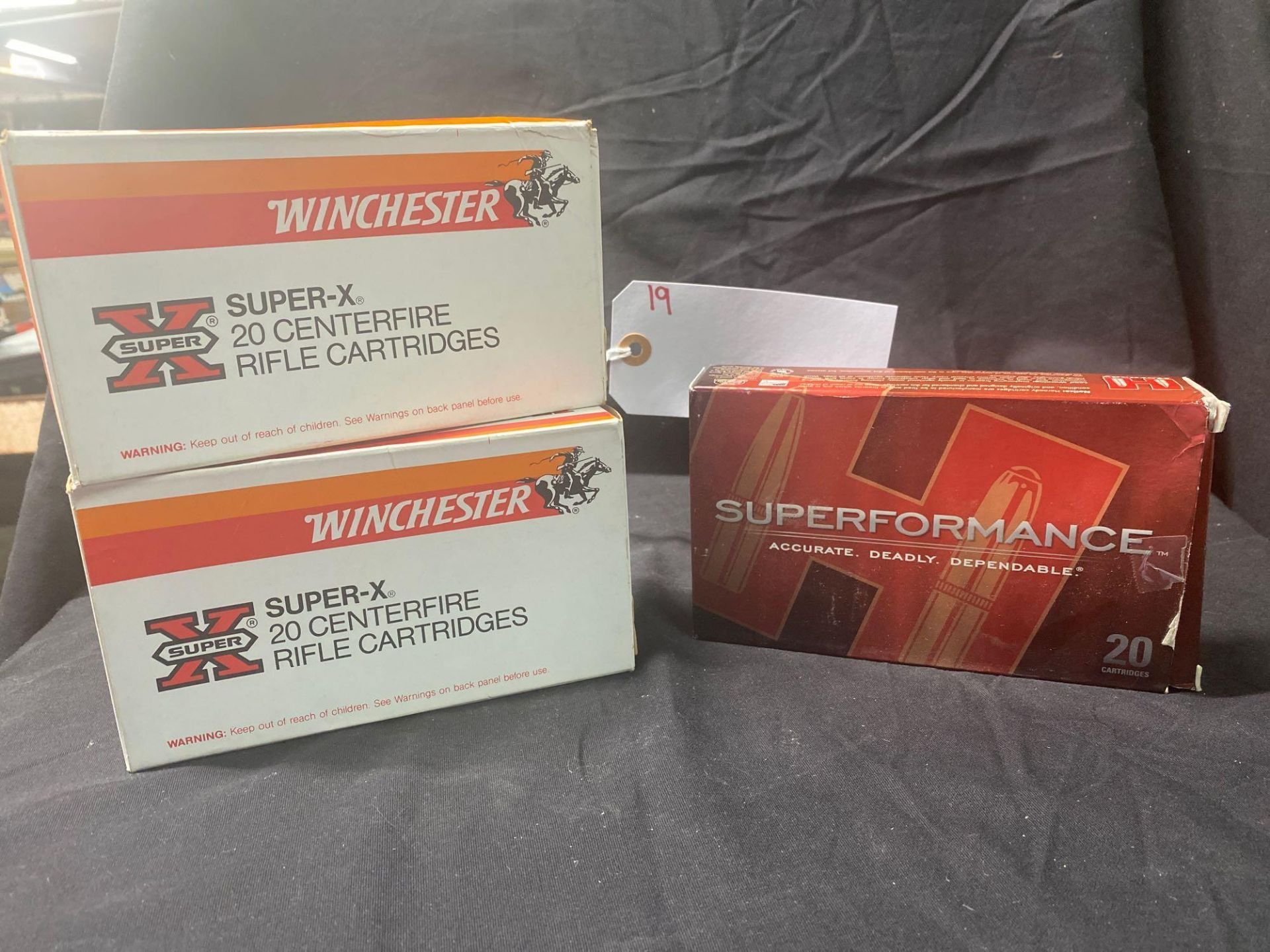 WINCHESTER AND HORNADY 338 WIN MAG (X3) - Image 2 of 2