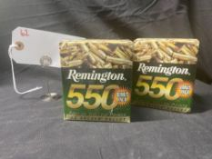 REMINGTON 550 ROUND PACK, 22 CAL (X2)