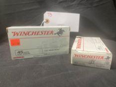 WINCHESTER 45 ACP, (X2)