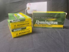 REMINGTON 35 REMINGTON CAL (X3)